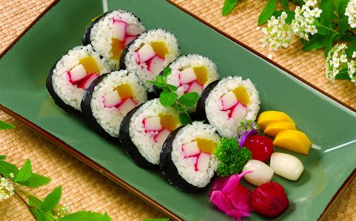 美味大筹集常见寿司的六大吃法